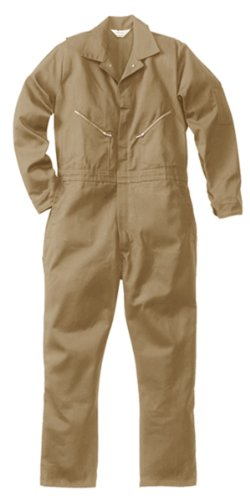 Walls Men's 100% Cotton Coveralls  Khaki (Spaceballs Costume)