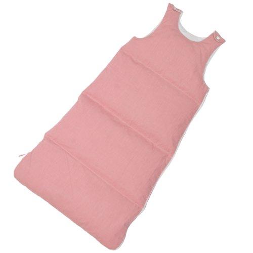 Maxi und Moritz - Babyschlafsack rosé - 90 cm - 90% Daune / 10% Federchen - Deutsches Qualitätsprodukt - 975.99.001
