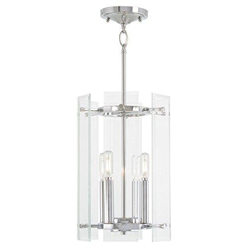Minka Lavery Pendant Ceiling Lighting 2393-77 Beacon Trace, 4-Light 240 Watts, Chrome