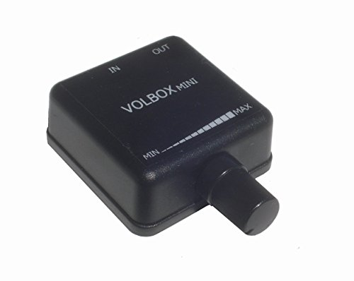 Volbox inline audio volume control attenuator 3.5mm 1/8