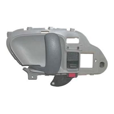 1995 1996 1997 1998 1999 Chevrolet Suburban Gray Lh Drivers Side Inside Door Handle for Chevy Suburban Left Hand Driver Interior Handle 95 96 97 98 99 Partslink #GM1352101: Automotive