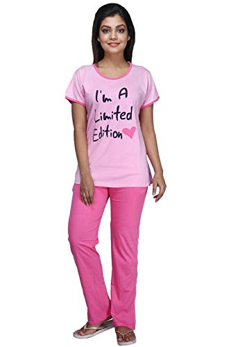 42a57849e Women Night Dress Women Night Suit Women Top and Pyjama Set Cotton Sinker