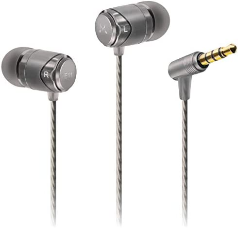 SoundMAGIC E11 Sound Isolating In-Ear Headphones Earphones Gunmetal Extra 10 Pieces Quality Eartips