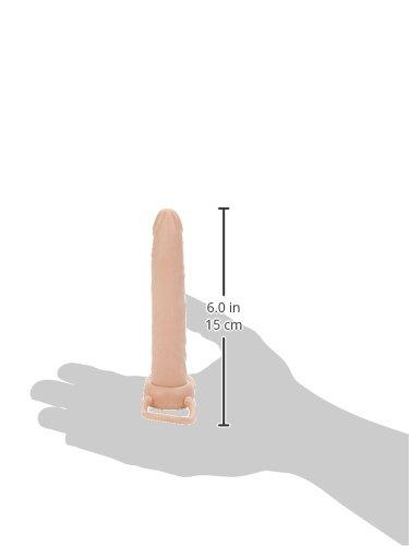 California Exotic Novelties Accommodator Dual Penetrator, Ivory