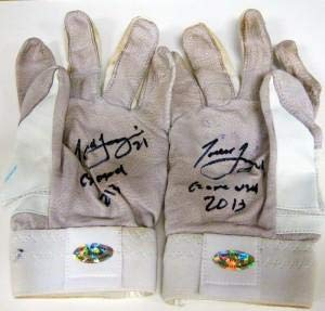 Todd Frazier Autographed Game Used Batting Gloves