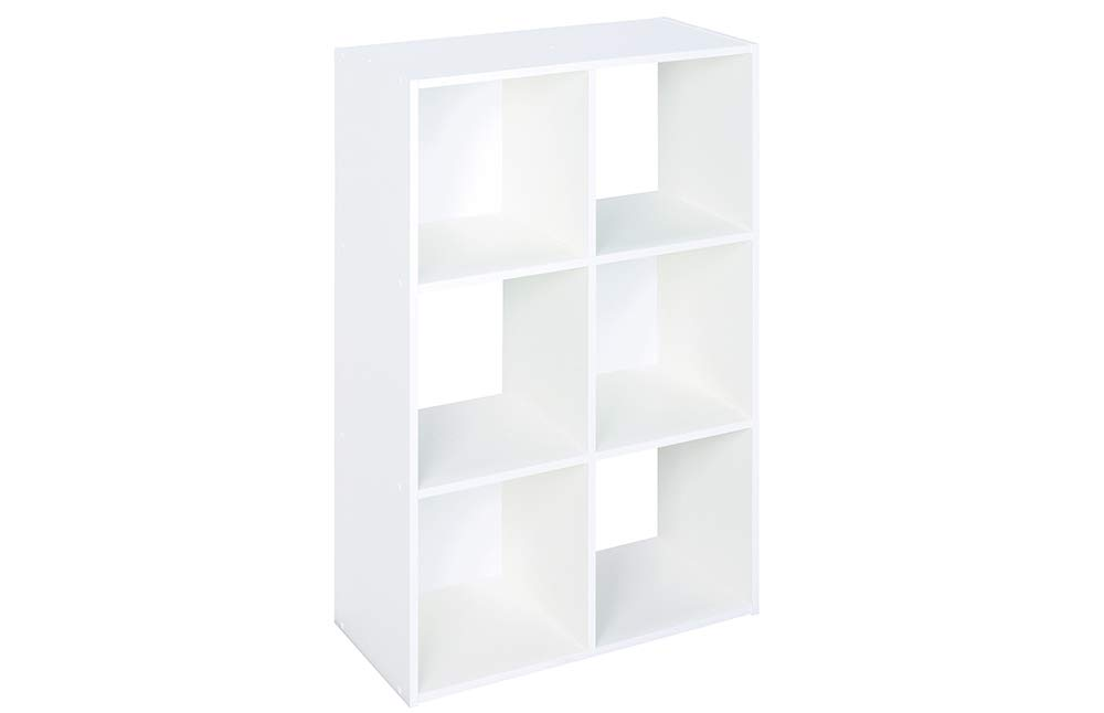 ClosetMaid 8996 Cubeicals Organizer, 6-Cube, White