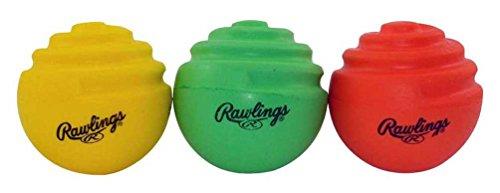 Curve Training Baseball (Rawlings Baseball Curve Ball Training Set, 3 Pack - CURVETRAIN)