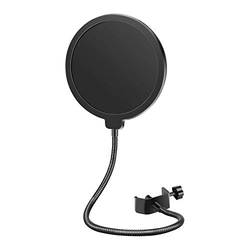 Neewer Professional Microphone Pop Filter Mask Shield Compatible with Blue Yeti and Any Other Microphone