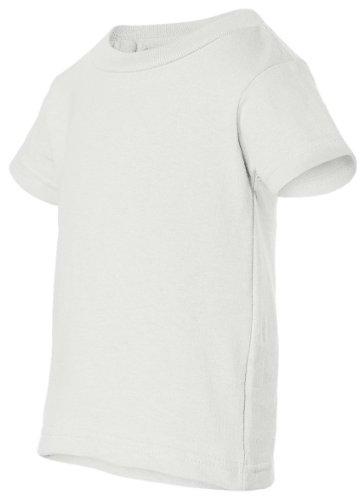 Rabbit Skins 3401 Infant Jersey T-Shirt, White, 18M ()