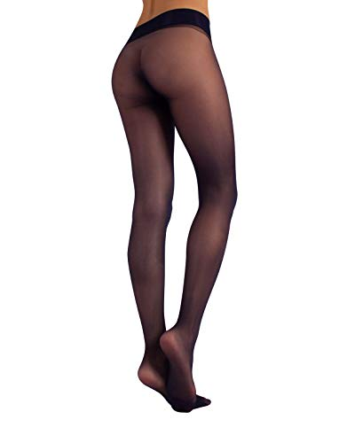 Womens Luxury Tights Hosiery without Oppression in Waistline Invisible Under Clothing 15 Denier