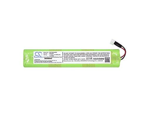 TDK EU-BT00003000-B Battery - Replacement for TDK Life On Record A34, Life On Record A34 Trek Max ( 2000mAh, 7.2 V, Ni-MH )