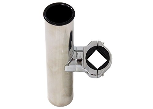 CE Smith Pontoon Square Rail Adjustable Clamp-On Rod Holder-Replacement Parts and Accessories for Tournament Fishing, Rod Fishing, Deep Sea Fishing and Trolling by CE Smith