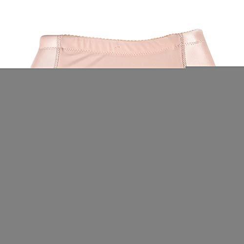 Women's Butt Lifter Padded Lace Boy Shorts Body Shaper Hip Enhancer Panties,SkinColor-XL