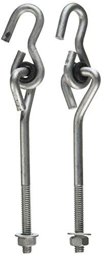 Stanley Hardware S752-000 CD8375 Galvanized  Swing Hooks  With Bearing in Galvanized, 5/16