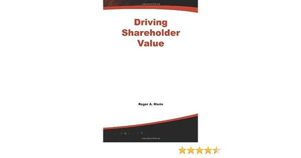 Amazon.com: Driving Shareholder Value (9780071590006): Sherry L ...