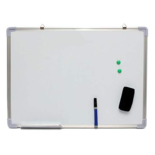 UL 28x20 inch Magnetic Dry Erase Whiteboard Writing Notice Board Single Side Office School Message by U&L