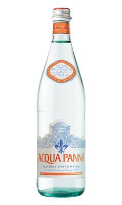 Acqua Panna Still Natural Mineral Water in a Glass Bottle of 750ml/25.36 Fl.oz -Case of 15 by Acqua Panna