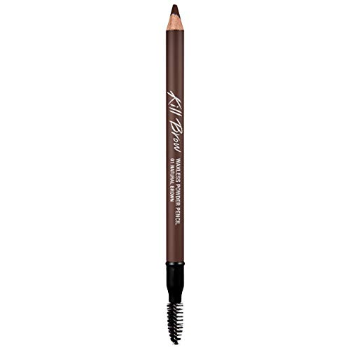 CLIO Kill Brow Waxless Powder Pencil 1.19g 001 NATURAL BROWN ()