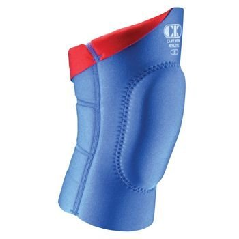 Cliff Keen Lycra Reversible Knee Pad Royal/Scarlet XL