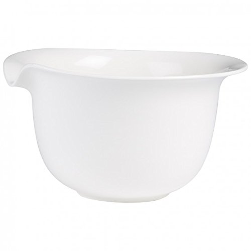 Pasta Passion Pasta Serve Bowl by Villeroy & Boch - Premium Porcelain - Made in Germany - Dishwasher and Microwave Safe - 12.75 x 10.75  x 6.5 Inches