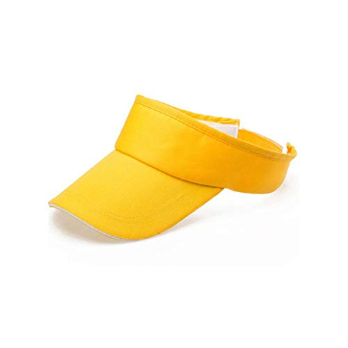 Summer Solid Visor Sun Plain Hat Casual Ajustable Empty for sale  Delivered anywhere in Canada