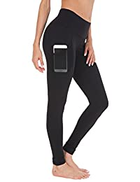 Queenie Ke Women Yoga Leggings Flex Mesh High Waist 3 Phone Pocket Gym Running Tights
