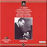 J.S. Bach - Goldberg Variations / 3 Inventions / 3 Sinfonias / Chromatic Fantasy and Fugue in D minor - Claudio Arrau (2 CD Set)