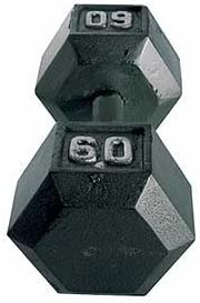 CAP Barbell Solid Hex Dumbbell Single (60-Pound) [並行輸入品]