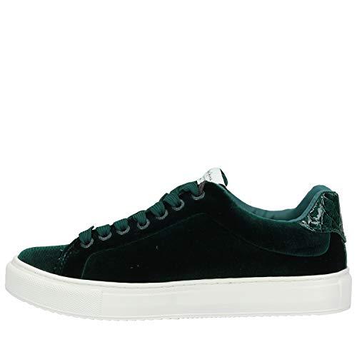 Velour Da Pepe Verde Jeans Donna Pantofola Adams wBFqp