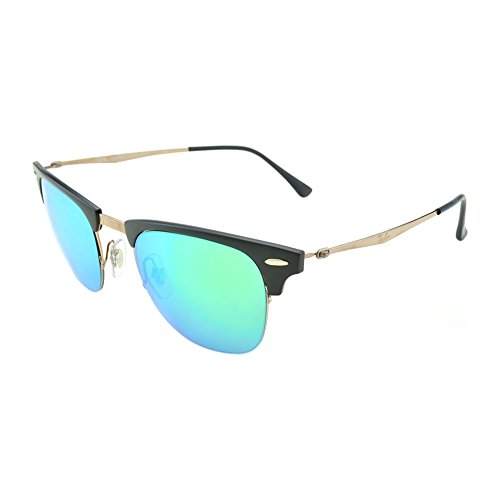 RB Ban Green 8056 Lenses Mirror Light Shiny Frame Marrón Ray Brown Sonnenbrille wSZdEqwa