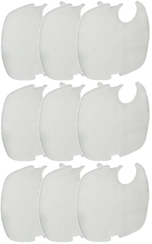 Replacement Fine Filter Pads for CF500UV Canister Filter - 9 Total Filter Pads (3 Packs with 3 per Pack) ()