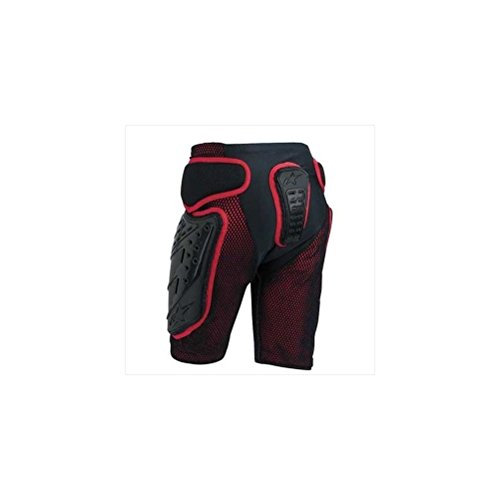 Alpinestars Freeride Men's Undergarment Off-Road Body Armor - Black/Red / X-Large by Alpinestars (Image #1)