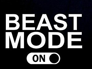Beast Mode On PREMIUM Decal 5