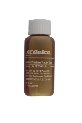 ACDelco 10-5046 Dex-Cool Leak Detection Tracer Dye - 1 oz ()