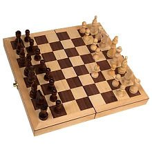 Classic Game Collection Wood Chess Set (Deluxe Electronic Chess)