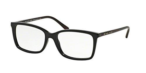Michael Kors GRAYTON MK8013 Eyeglass Frames 3056-51 - Black - Mk Prescription Glasses