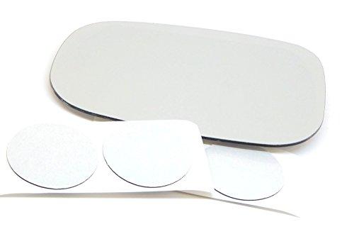 08-14 Volvo C30 C70 07-11 S40 S80 07-09 S60 07-10 V50 V70 Left Driver Mirror Glass Lens w/Adhesive USA ()