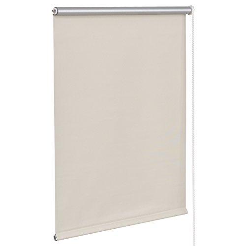 Giantex 22'x60' Roller Blinds Sunscreen Blackout Sun Shade Window Bedroom (22'x60', Beige)