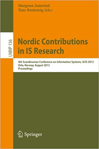 Nordic Contributions in IS Research: 4th Scandinavian