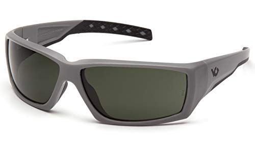 (Venture Gear VGSUG722T Overwatch Tactical Sunglasses with Anti-Fog Lens, Urban Gray/Forest Gray)