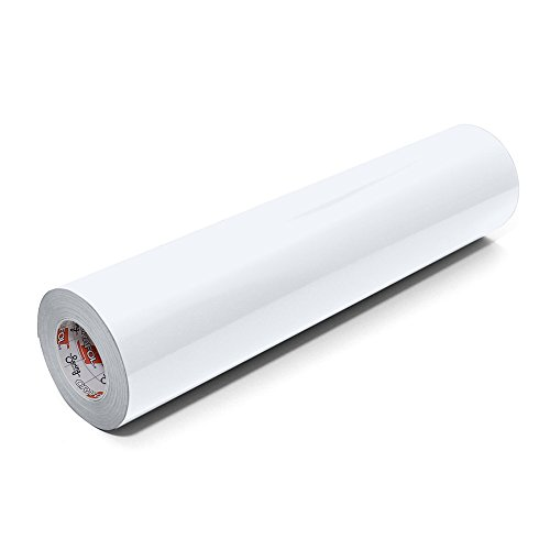 Genuine Value Pack - Oracal 651 Glossy Permanent Vinyl 12 Inch x 6 Feet - White
