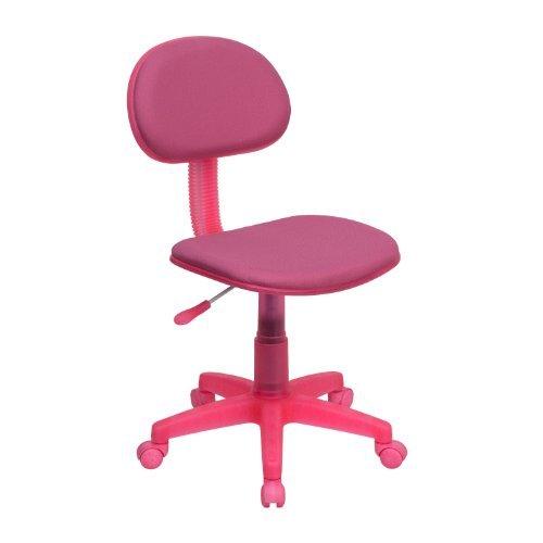 Pink Fabric Ergonomic Task Chair