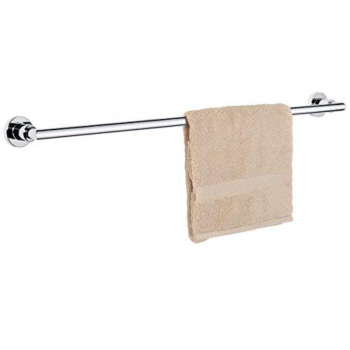 "Dynasty Hardware 4001-CM Manhattan 30"" Single Towel Bar Polished Chrome"