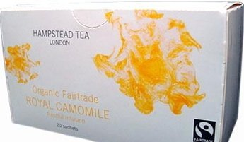 [HAMPSTED ? Hampstead] herbal tea TB20p Royal chamomile