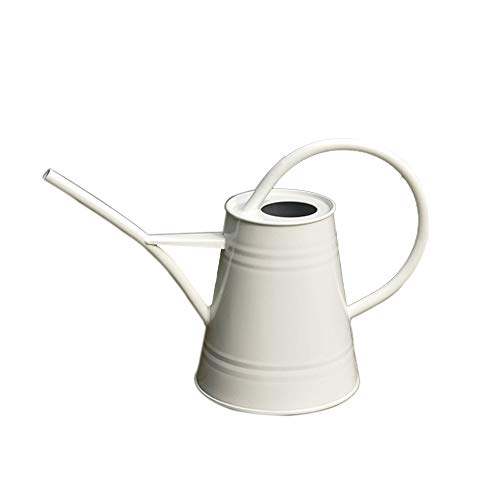 Calunce Fashion Rustic Retro Textured Gardening Tools Long spout Watering can (White) by Calunce