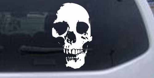 Amazoncom Skull Shadow Decal Skulls Car Window Wall Laptop Decal - Skull decals for trucks