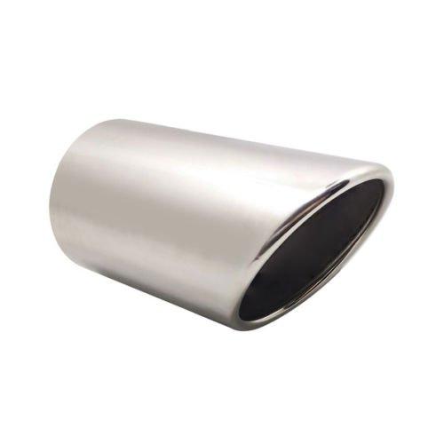 Boloromo 687891499 Single Exhaust Performance Sport Muffler Tip Trim End Pipe Chrome Car For A6 4F C6