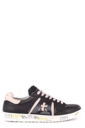 Premiata Mujer MCBI245060O Negro Cuero Zapatillas