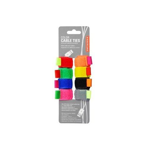 Kikkerland Color Cable Ties, Set of 8 (US79) Kikkerland Design