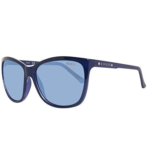 Guess Sonnenbrille GU7308 6090X Gafas de sol, Negro (Schwarz), 60 para Mujer